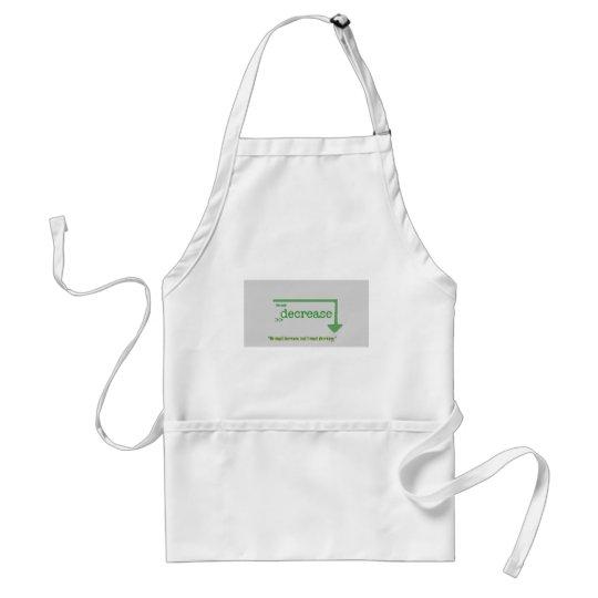 decrease2 adult apron