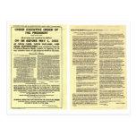 Decreto 6102 5 de abril de 1933 ORIGINAL Postales