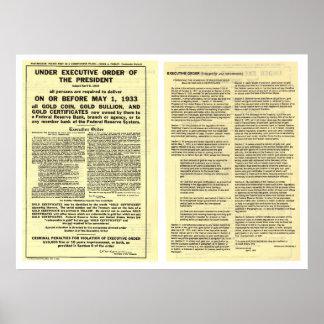 Decreto 6102 5 de abril de 1933 ORIGINAL Póster
