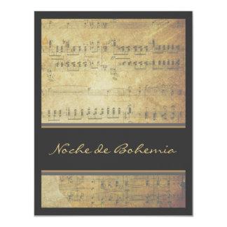 Decreto de la música o invitación de la partitura