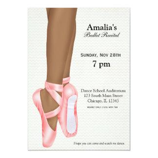 Decreto del ballet invitaciones personalizada