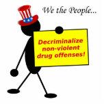 Decriminalize Non-Violent Drug Offenses Photo Sculptures