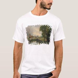 Dedham Lock and Mill, 1820 T-Shirt