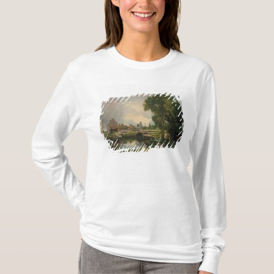 Dedham Lock and Mill, 1820 T-Shirt