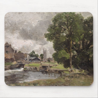 Dedham Lock and Mill Mouse Pad