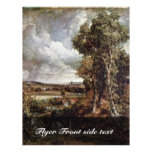 Dedham Vale By John Constable (Best Quality) Flyer