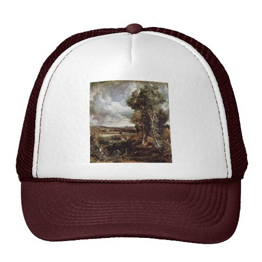 Dedham Vale By John Constable (Best Quality) Hats