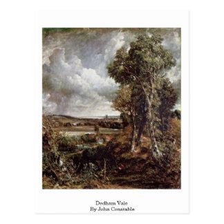 Dedham Vale By John Constable Postcard