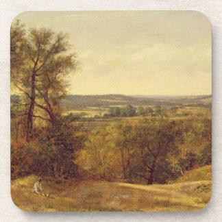 Dedham Vale, c.1802 (oil on canvas) Drink Coaster