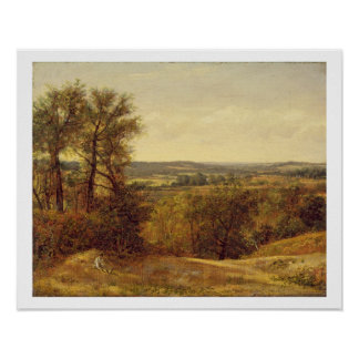 Dedham Vale, c.1802 (oil on canvas) Poster