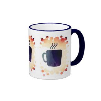 Dedicated To Coffee Drinkers Ringer Mug
