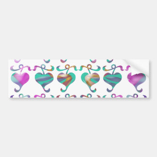 Dedicated to MOM : Jewels U Love Bumper Sticker