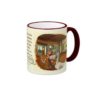 Dedicated to Rocinante, DON QUIXOTE's horse Ringer Mug