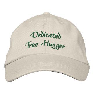 Dedicated Tree Hugger Embroidered Baseball Hat