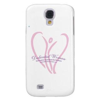 Dedicated Woman Galaxy S4 Case