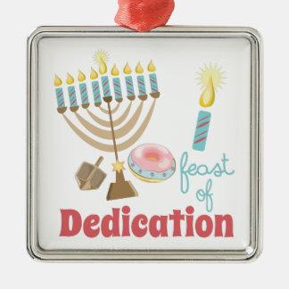 Dedication Feast Metal Ornament