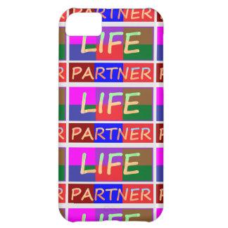Dedication : Happy Life Partner Case For iPhone 5C