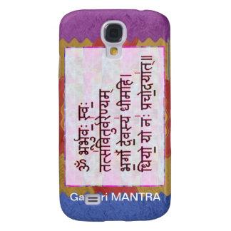 Dedication to GAYATRI Mantra - Artistic Background Samsung S4 Case