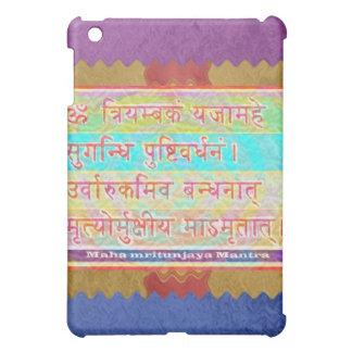 Dedication to MAHA-MRITUNJAY Mantra iPad Mini Cover