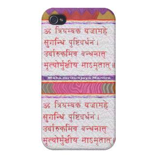 Dedication to MAHA-MRITUNJAY Mantra iPhone 4 Cases
