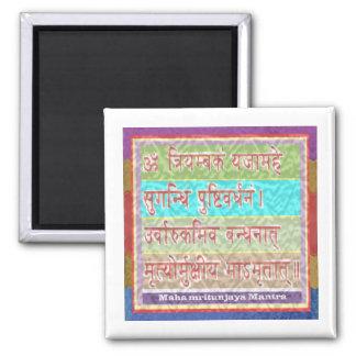 Dedication to MAHA-MRITUNJAY Mantra Magnet