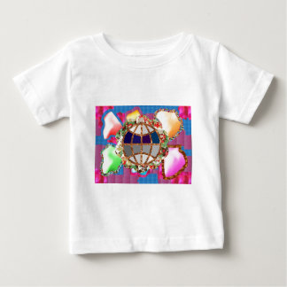 Dedication to Mother EARTH - KIDs know better toda Baby T-Shirt