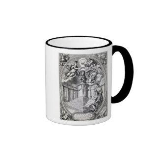 Dedicatory engraving to Gottfried Finger, 1688 Mug