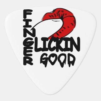 Dedo Lickin bueno Plumilla De Guitarra