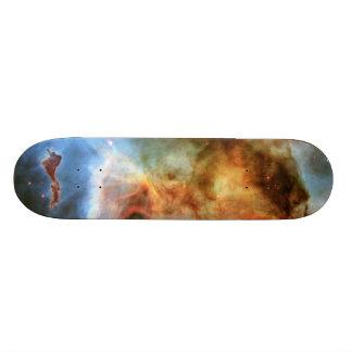 """Dedo medio de la nebulosa del ojo de la cerradura patineta 7 7/8"""""""