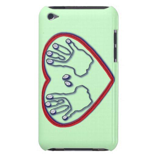 Dedos de dios - 1 5:6 de Peter - 7 Barely There iPod Protectores