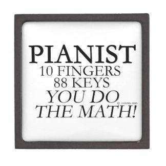 Dedos del pianista 10 88 llaves cajas de recuerdo de calidad