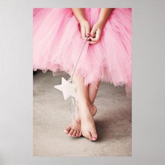 Dedos del pie de la bailarina posters