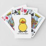 Dedos del pollo - vegetariano barajas de cartas