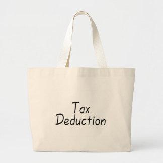 Deducción fiscal bolsa tela grande