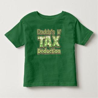 Deducción fiscal de Lil del papá T-shirts