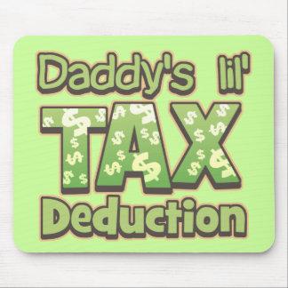 Deducción fiscal de Lil del papá Tapetes De Ratones