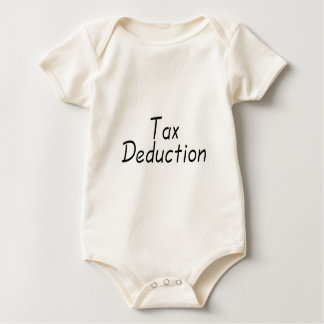 Deducción fiscal mameluco de bebé