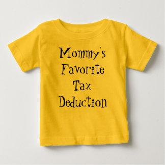 Deducción fiscal preferida de la mamá poleras
