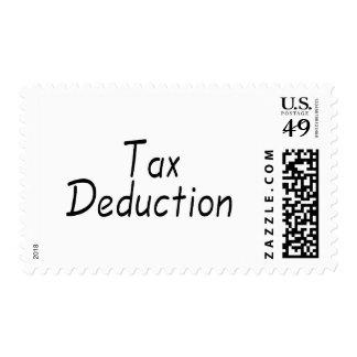 Deducción fiscal envio