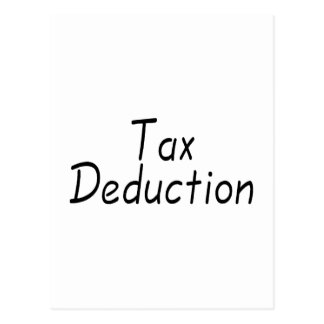 Deducción fiscal postales