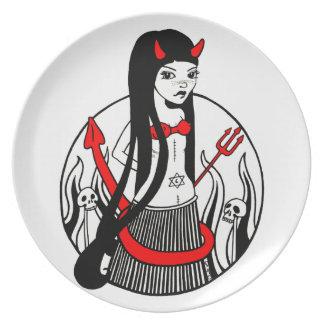 Dee Dee Diablo Art Plate