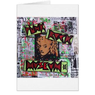 dee detroit uxa tribute punk rock museum by sludge greeting card