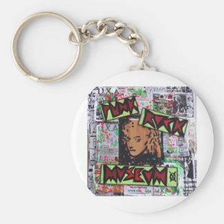 dee detroit uxa tribute punk rock museum by sludge key chains
