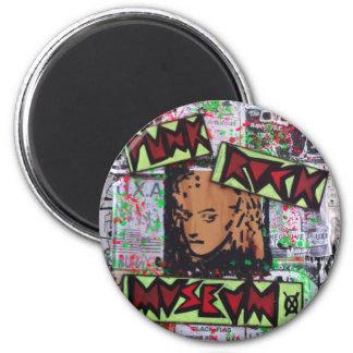 dee detroit uxa tribute punk rock museum by sludge fridge magnet