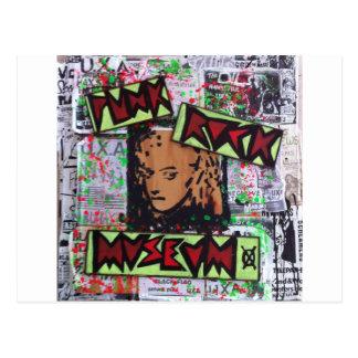 dee detroit uxa tribute punk rock museum by sludge postcard