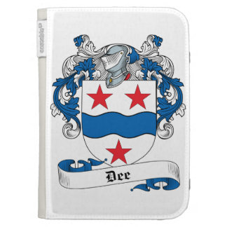 Dee Family Crest Kindle 3 Cover