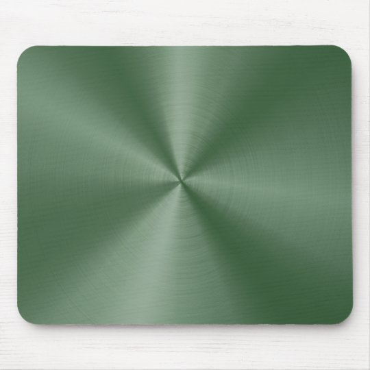 Dee Green Stainless Steel Mouse Pad