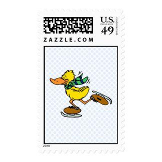 Deedle Duck Postage Stamp