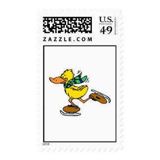Deedle Duck Postage Stamps