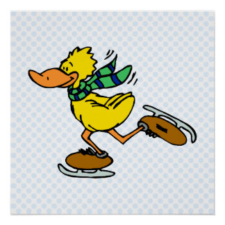 Deedle Duck Poster